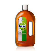 750ml Dettol Antiseptic Liquid First Aid Cleaner Disinfectant Kills Germs