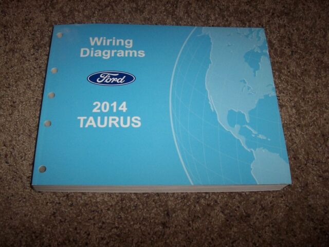 2014 Ford Taurus Electrical Wiring Diagram Manual Se Sel