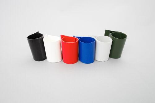 zum aufkleben für Schlauchboote Kleber Kit Blau Set: Rutenhalter Lasche
