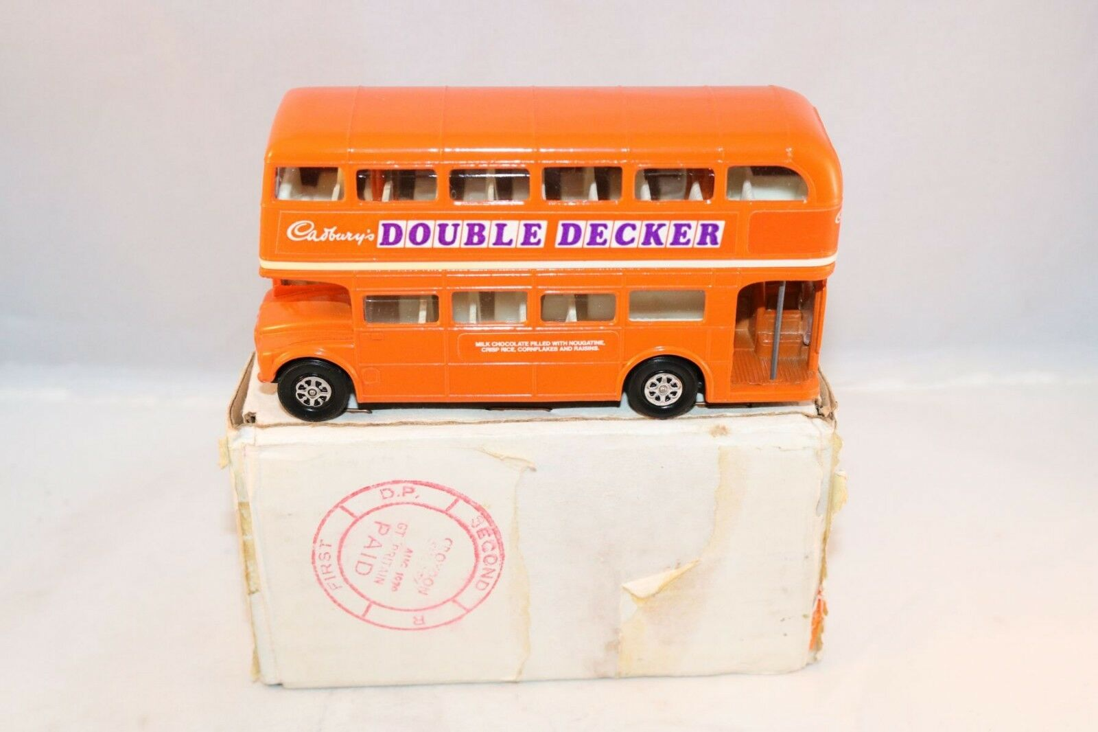 Corgi Toys 469 London Routemaster BUS Cadburys Promotional Mint in box scarce
