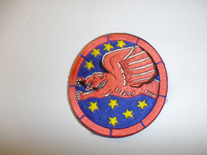 b1034v WW 2 US Army Air Force 99th Fighter Squadron  Patch Tuskegee small R12B