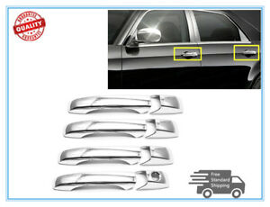 For DODGE Avenger 2008-2010 2011 2012 2013 2014 Chrome 4 Door Handle Covers w//o