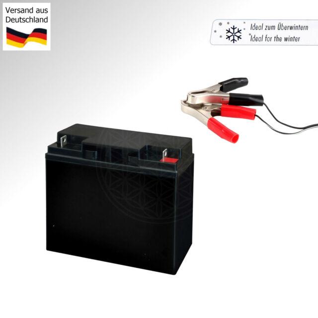 Rasentraktor Batterie 12V 35Ah 330A//EN Plus Pol Rechts Aufsitzmäher WARTUNGSFREI