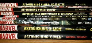 MARVEL Astonishing X-men HC TPB lot WHEDON #1-51 WOLVERINE Mutants comics OOP
