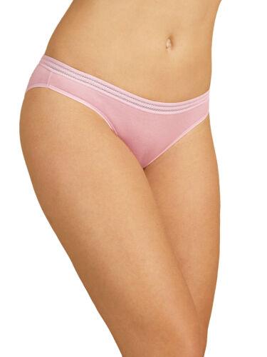 New M/&S Rose Modal Blend No VPL Bikini Knickers Plus Sizes 22 24 26 28