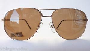 Eschenbach Lunettes de soleil hommes doppelsteg pilote métal bicolore 100/% UV Taille L