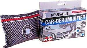 Pingi Reusable Damp Moisture Absorbing Dehumidifer Bag for Car Van Caravan Home