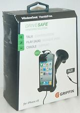 NEW Griffin iPhone SE/5s/5/4s Window Seat Car Mount Hands Free dash iPod Android
