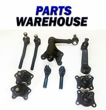 10pc Kit Upper & Lower Ball Joint Tie Rod Idler Arm For Toyota 4wd 1 YEAR WRNTY