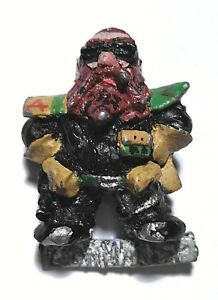 40K Rogue Trader RT9 Heavy Weapon Commander Squat Captain Khyrk 1987 OOP metal