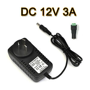 AU-Plug-to-DC-12V-3A-36W-Power-Supply-Adapter-Charger-for-LED-Strips-Light