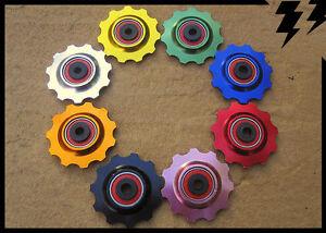 MT-ZOOM-Ceramic-Bearing-Durable-11T-Jockey-Wheels-Derailleur-Pulleys-x2-8Colours