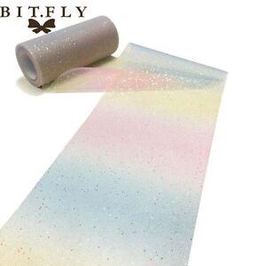 Rainbow-Tulle-DIY-Roll-Spool-Fabric-Tutu-Skirt-Wedding-Party-Craft-Favor
