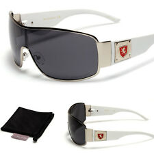 Polarized Aviator Fishing Driving Sunglasses Premium Sports Men's Glasses White