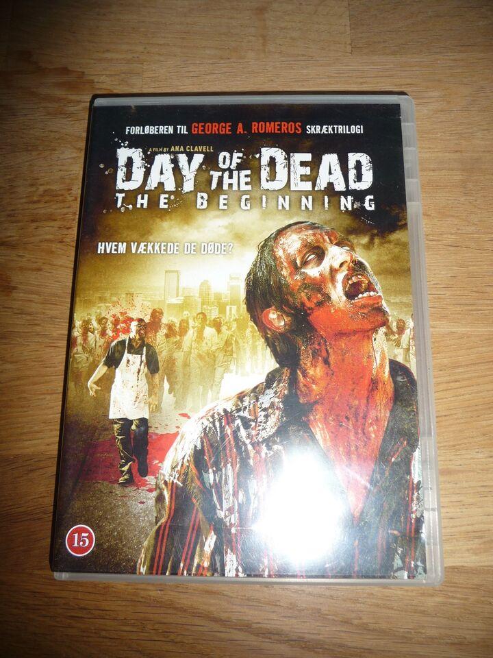 Day of the dead, DVD, gyser