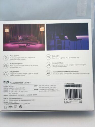 Xiaomi Yeelight Smart Light Strip RGB LED Ambient Light WiFi Phone Control 2M
