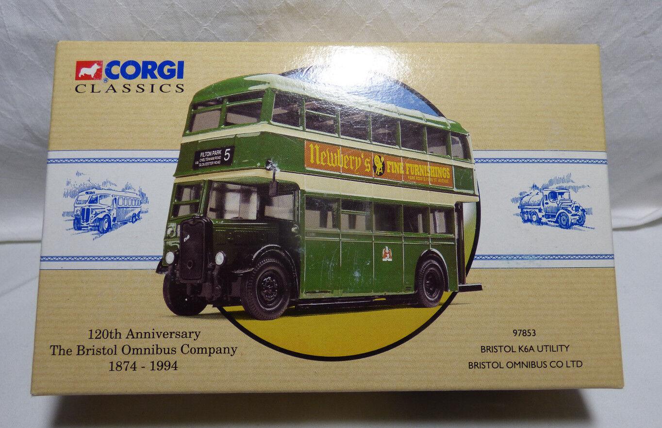 CORGI classeics 97853 Bristol k6a Utility Bristol omniautobus Co LtdScatola originale
