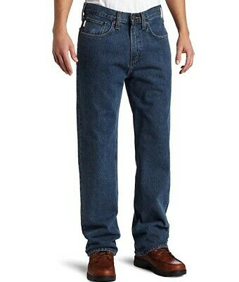 Carhartt Jeans 44X32 NWT Relaxed Fit Straight Leg Irregulars