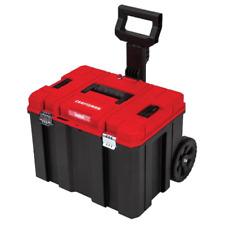 Craftsman Versastack System 20 In Red Plastic Wheeled Lockable Tool Box