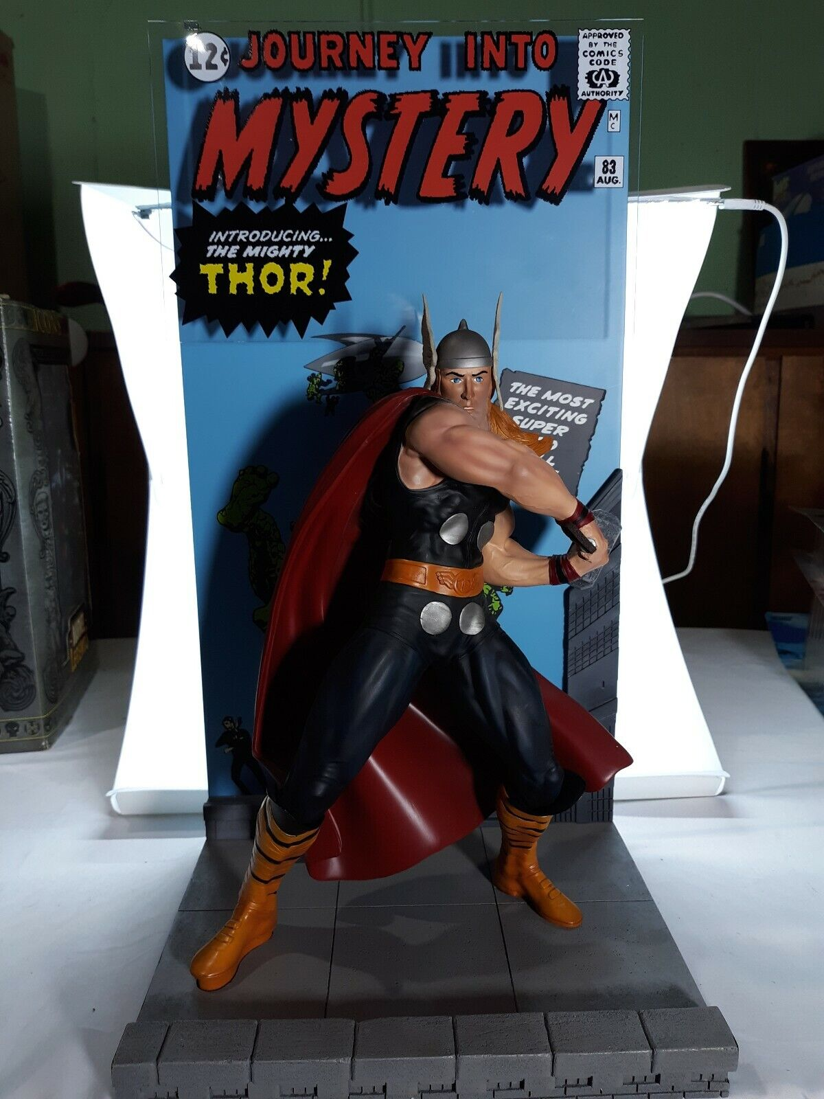 THE MIGHTY THOR Statue Journey Into Mystery Master Replicas