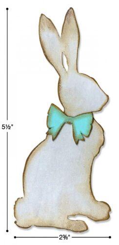 Sizzix Bigz Cottontail die #664167 Retail $19.99 designer Tim Holtz