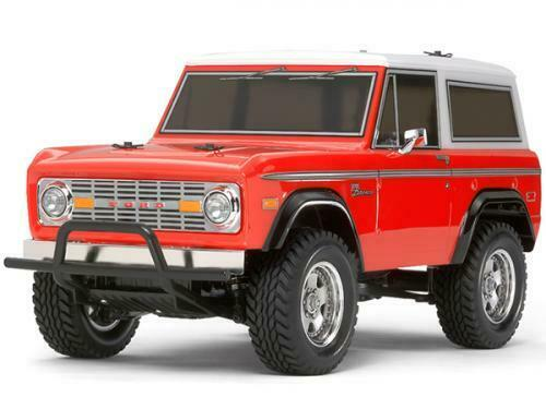 Tamiya Ford Bronco 1973 CC-01 RC Kit- 58469 (UTAN ESC)