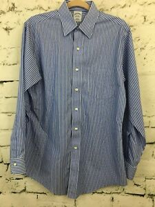 Preowned Est 1818 Brooks Brothers Women Longsleeve Tailored Fit Size:4 Striped