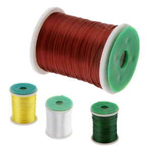 3pcs Fly Tying Thread DIY Fly Tying Materials for Flies Lure Hand-made Craft