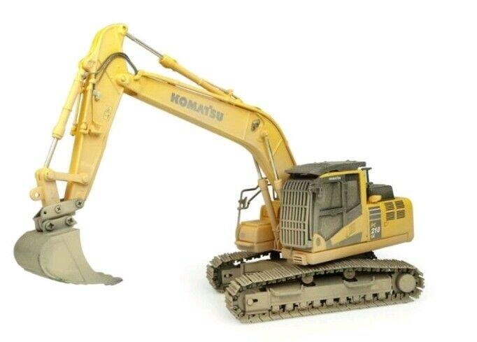 Komatsu PC210LC-11 Diecast Escavatore (Muddy Versione) 1:50, Universal Hobbies