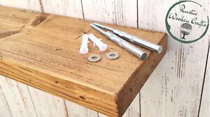 Staffe A Scomparsa Per Mensole.Dettagli Su Legno Massello Mobile Rustico Mensola Per Mensola Con Staffe Mensola A Scomparsa In Legno Mostra Il Titolo Originale