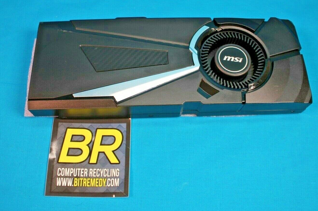 *HEATSINK ONLY* MSI NVIDIA GeForce GTX 1080 Aero Heatsink and Fan