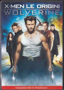 X-Men-le-origini-Wolverine-uno-2009-DVD-NUOVO-Sigillato-X-MEN-RENT