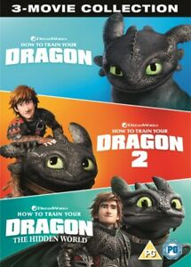 Nuovo How To Treno Your Dragon 1 A 3 DVD (8318614)