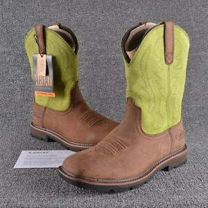 Ariat Work Boots SIZE 13 STEEL TOE Mens Groundbreaker Square ...