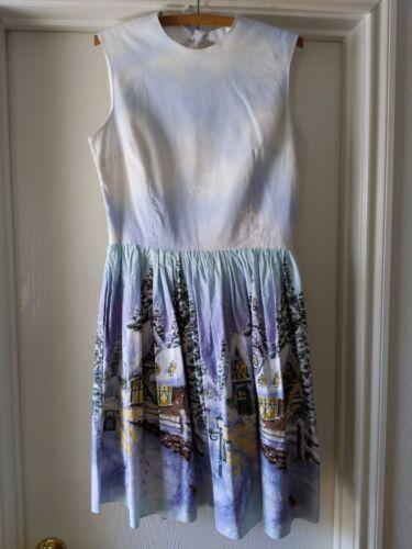 Bernie Dexter ModCloth Winter Wonderland Dress Siz