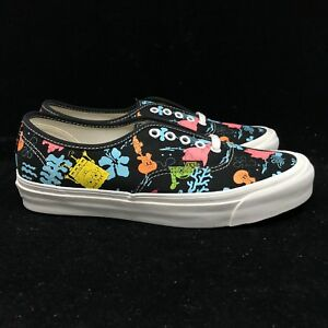 f04de206fc Vans Vault Spongebob Square Pants Authentic LX Multi Black White Gum ...