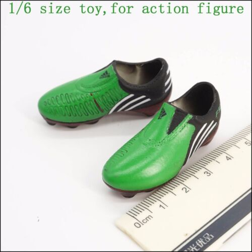 """1:6th Accessory Green football shoes wave shoes Model For 12"""" Male Figure Doll"""