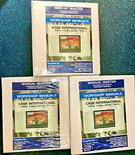 Case Cvx1135 1195 Tractor Workshop Repair Manual Printed Free Delivery