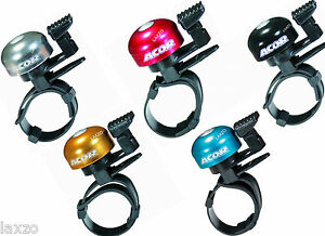 ACOR-ALLOY-BIKE-CYCLING-MINI-BELL-WITH-ADJUSTABLE-STRAP-ANODIZED-COLOURS