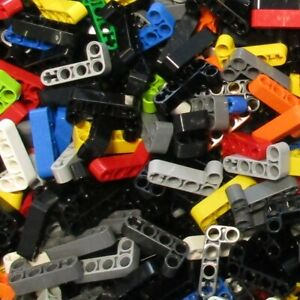 Used-LEGO-500g-Packs-Technic-Lifarms-32140-Technic-Balken-2-x-4-L-Form