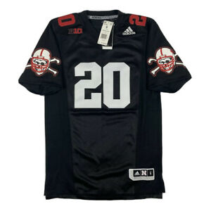 "NEW Adidas Nebraska Cornhuskers #20 ""Blackshirts"" Premeir Football ..."