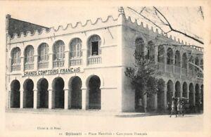 DJIBOUTI-Place-Menelick-Comptoirs-Francais