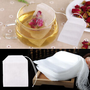 100pcs-non-woven-Empty-Teabags-String-Heat-Seal-Filter-Paper-Herb-Loose-Tea-Bag