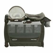 Graco Portable Bouncer w// Bassinet Quick Connect Head Support Albie One Size