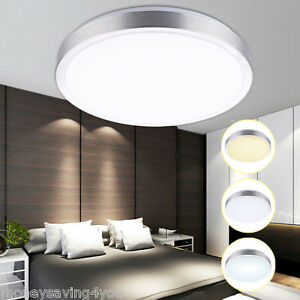 Das Bild Wird Geladen 18W LED Deckenleuchte Badleuchte Kueche Deckenlampe Dimmbar Wohnzimmer