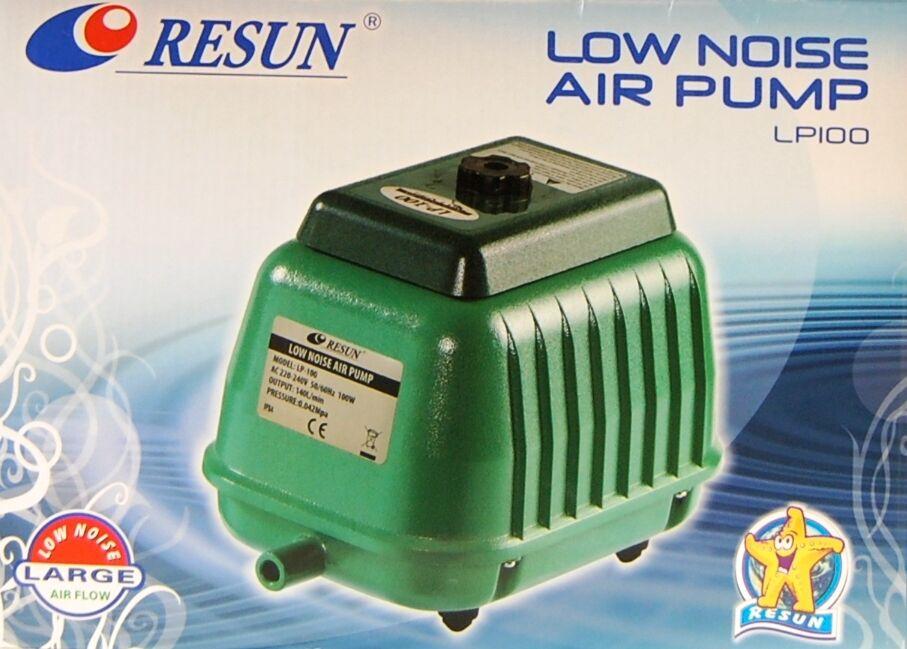 Resun Resun Resun LP 100 Teichbelüfter Sauerstoffpumpe Membranbelüfter Belüfter Luftpumpe 2cd312