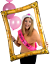 Giant-Inflatable-Blow-Up-Selfie-Cadre-photo-photo-booth-Nouveaute-Fun-Party miniature 3