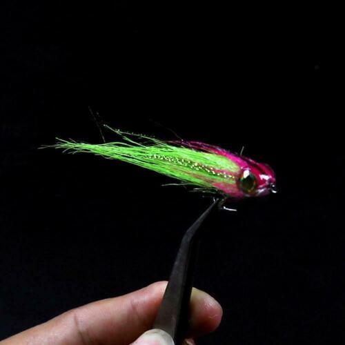 20 pcs 4D Fisheyes For Streamer Fly Lure Flies Fishing Z7Q0 10pcs Fish Head
