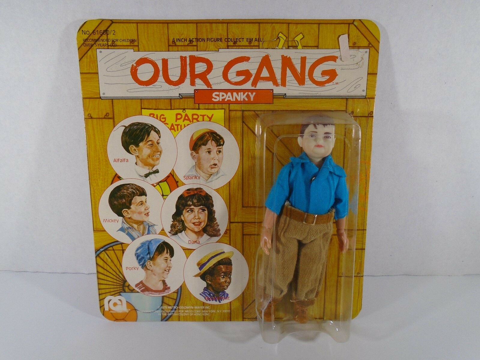 1975 MEGO CORP--OUR GANG--6  SPANKY FIGURE (NEW)