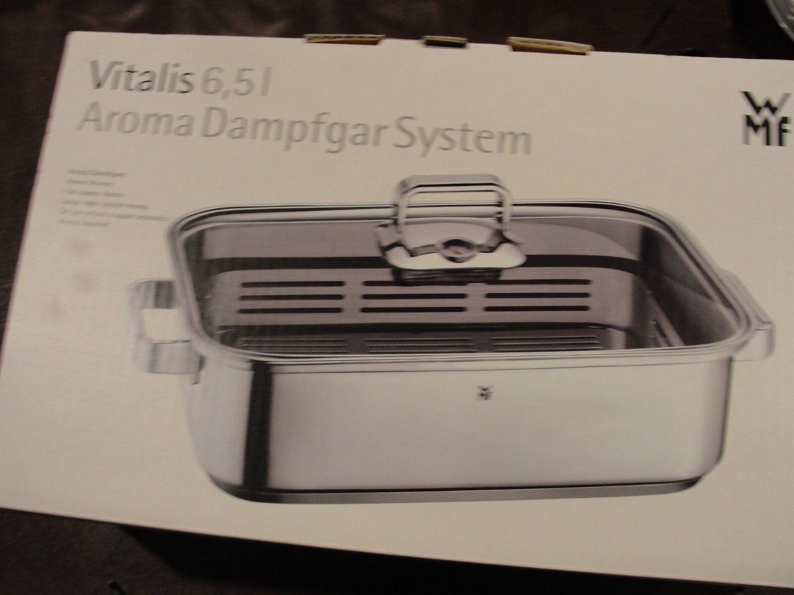 Vitalis Aroma Steamer, couvercle en verre avec silicone RIM, thermomètre NEUF